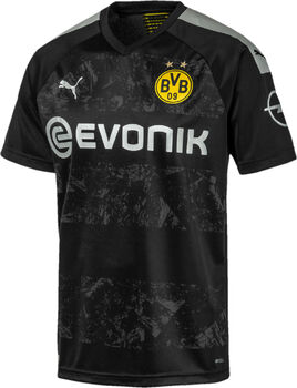 Puma BVB Away Fussballtrikot Herren Schwarz
