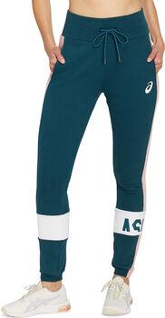 ASICS COLOR BLOCK pantalon de running Femmes Bleu