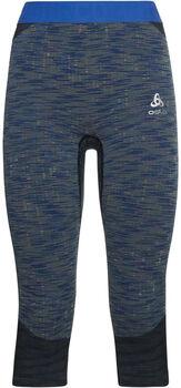 Odlo BLACKCOMB sous-pantalon fonctionnel 3/4 Femmes Bleu