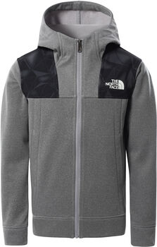 The North Face Surgent Full Zip Hoody Garçons Gris